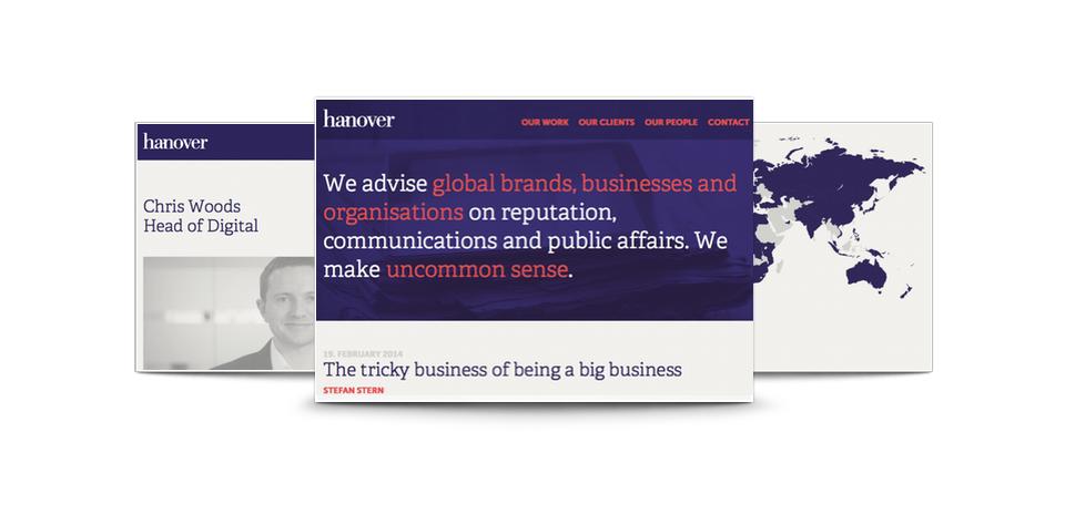 Hanover website